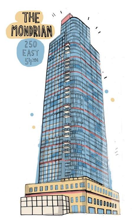 The Mondrian 250 East 54th Street